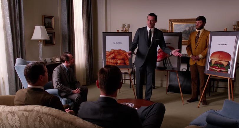 Don Draper Heinz pitch, 2013 Mad Men