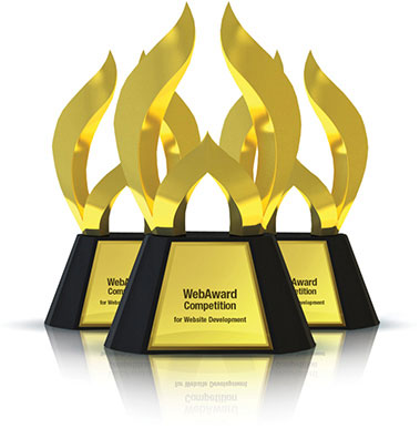 WebAward trophy