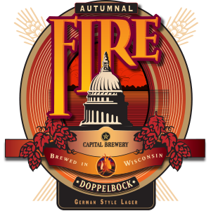 Capital Brewery Autummal Fire logo