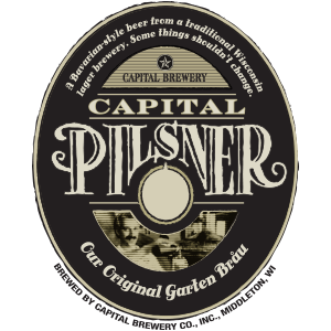 Capital Brewery Pilsner logo