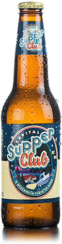 Bottle of Capital Brewery Supper Club